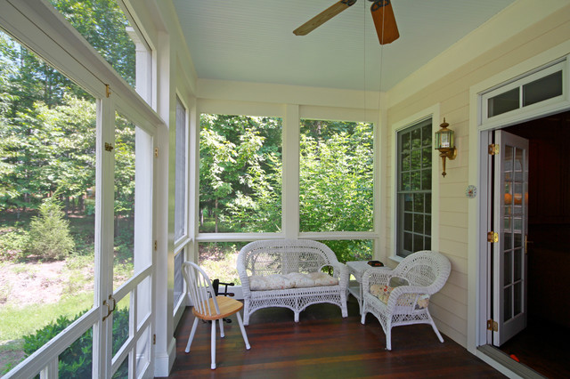 Ivy Southern Living Crabapple Cottage traditional-porch