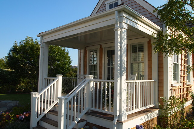 Jetties House Victorian Porch Boston By Chip