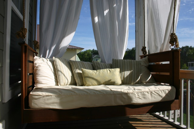 Bed Swing from Vintage Porch Swings - Charleston SC - Eclectic - Porch ...