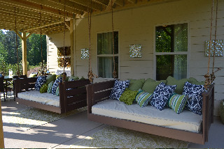 Joshua Bed Swing from Vintage Porch Swings - Charleston SC - Traditional - Porch - charleston ...