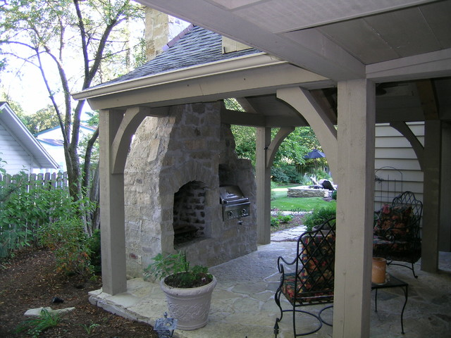 kaneville traditional-porch