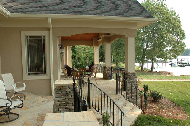 Lake bungalow traditional porch charlotte by for Pippin home designs