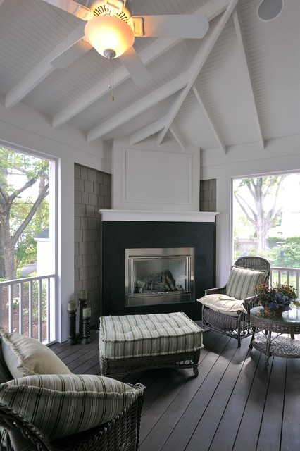 Lake Country Builders traditional-porch