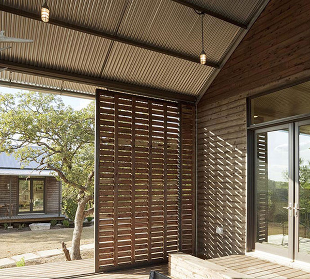 Lake Flato Porch House At Miller Ranch By