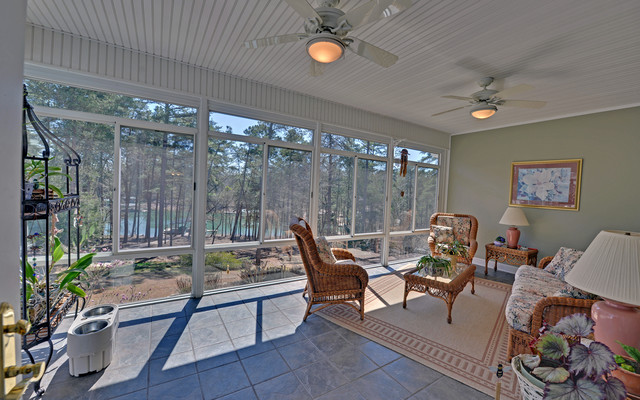 Lake Hartwell Custom Homes traditional-porch