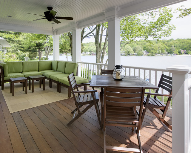 Lake House Project Traditional Porch New York By