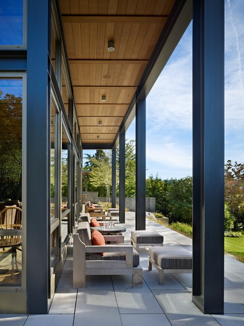 Lake House Two Exterior Modern Porch Seattle By