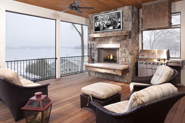 Lake Minnewashta Remodel traditional-porch