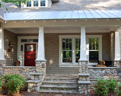 Lake Oconee Craftsman traditional-porch