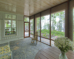 Lake Superior Residence rustic-porch
