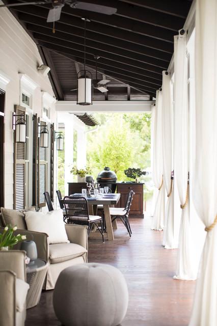 Lakeside Luxury beach-style-porch