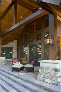 Lakeside Porch Rustic Porch Minneapolis By
