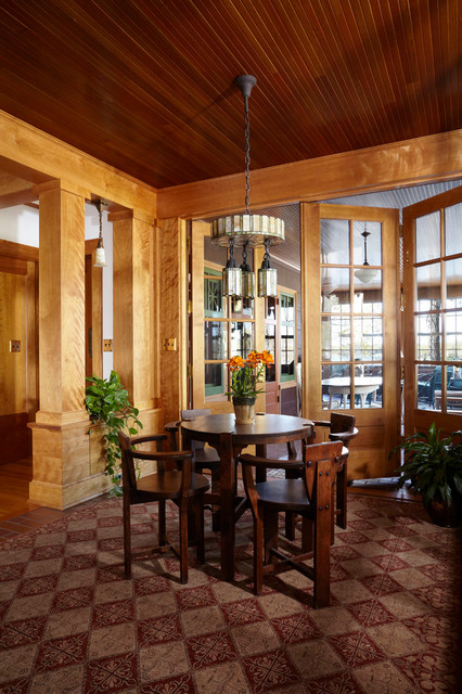 Lakeside Remodel traditional-porch