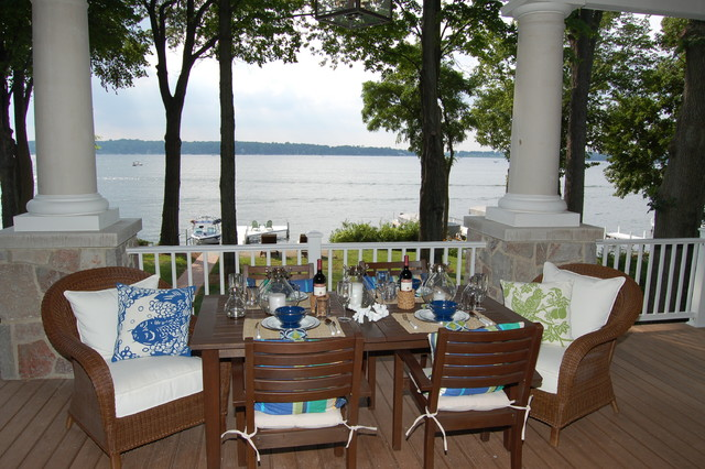Lakeside Terrace traditional-porch