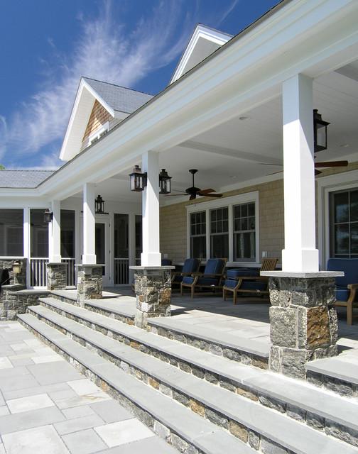Lakeside Vermont Home - Traditional - Porch - Burlington - by The McKernon Group