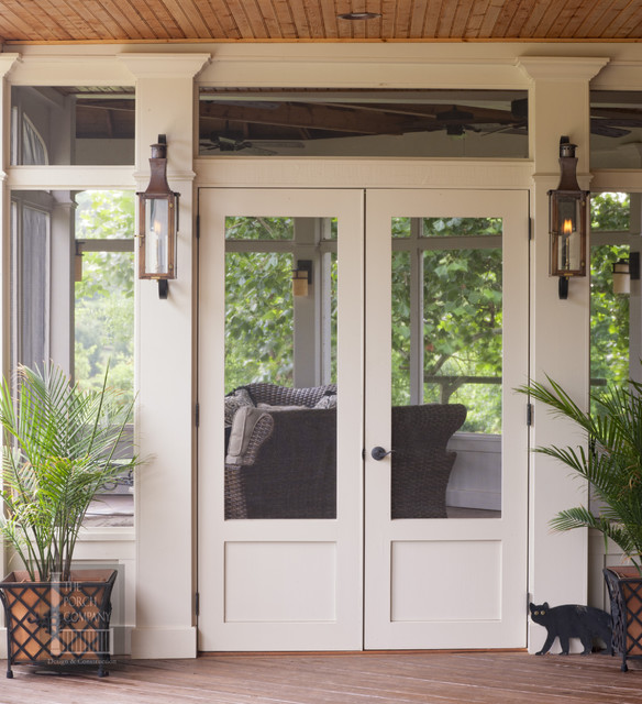 Superior Large Double Porch In Nashvilleu0027s Brentwood Area Traditional Porch