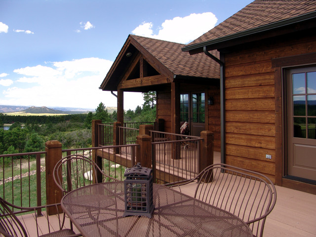 Larkspur Residence traditional-porch