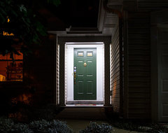 LED Exterior Entryway Lighting traditional-porch