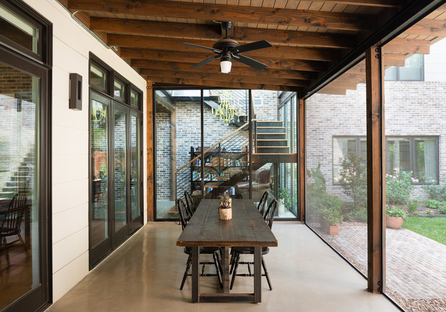 Liberty rustic sunroom austin by david mills for Rustic sunrooms