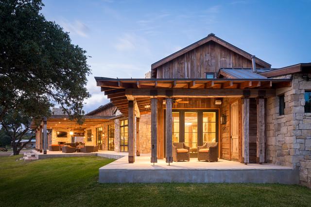 Llano Ranch - Rustic - Porch - Austin - by Cornerstone ...