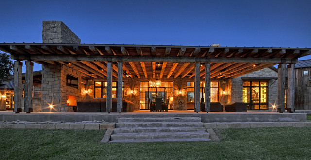 Llano Ranch Rustic Porch Austin By Cornerstone