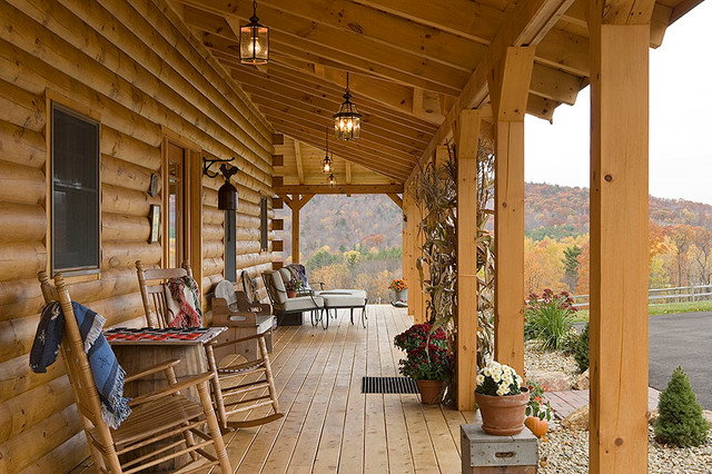 Log Homes & Cabins - Coventry Log Homes - The Athens