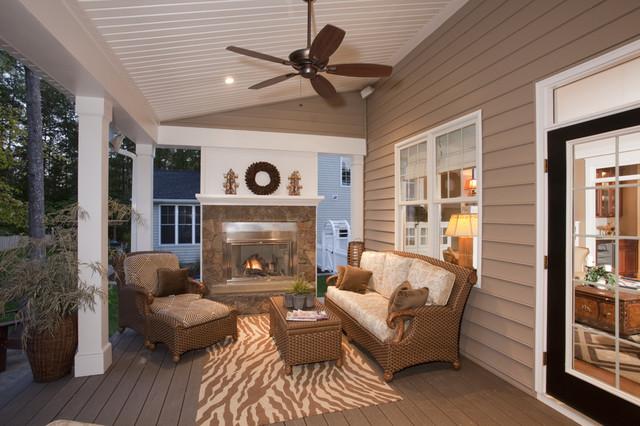 Loggia traditional-porch
