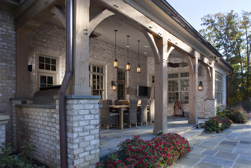 What Is A Loggia? Way Nicer Than A Porch Or Patio—Here's