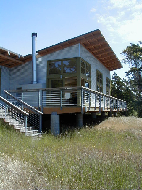 Lopez Island Compound contemporary-porch