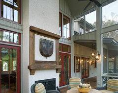 Lowcountry Residence traditional porch