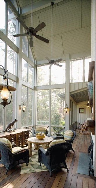 Lowcountry Residence rustic-porch