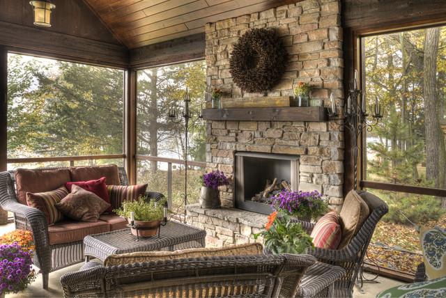 Porch rustic-porch