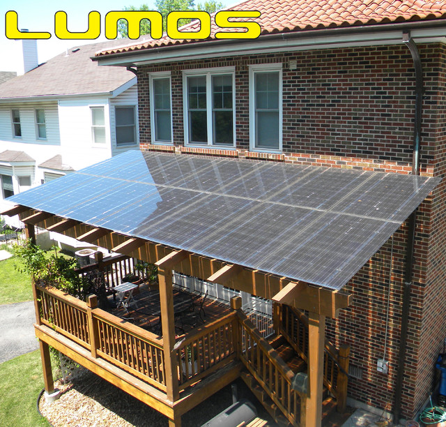 Lumos LSX Patio Porch Canopy Awnings Traditional Verandah