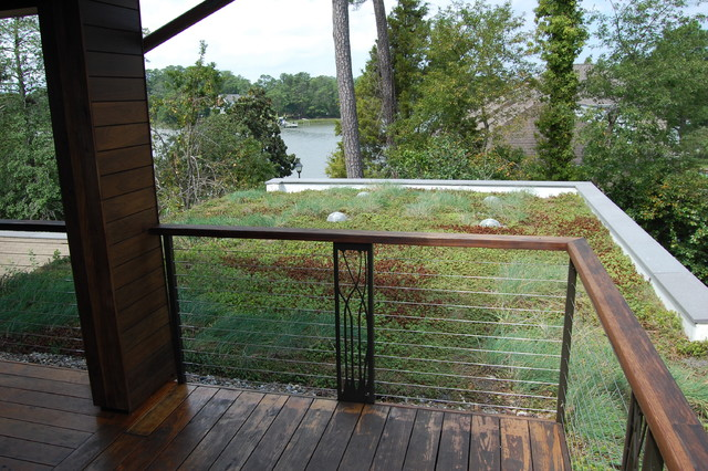 Lynnhaven River House Modern Porch Other Metro By