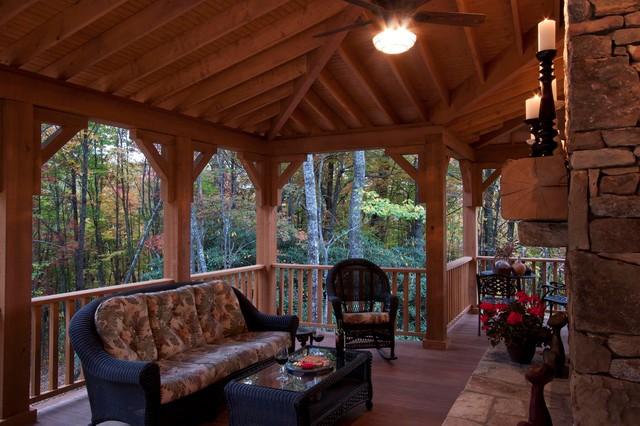 Lyon- Howard Residence traditional-porch