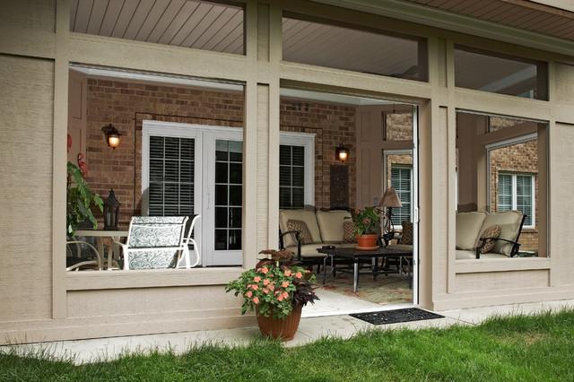 mj whelan construction traditional porch - Under Deck Patio Ideas
