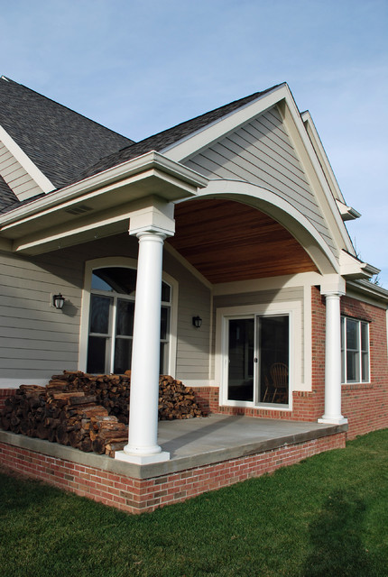 M.J. Whelan Construction contemporary-porch