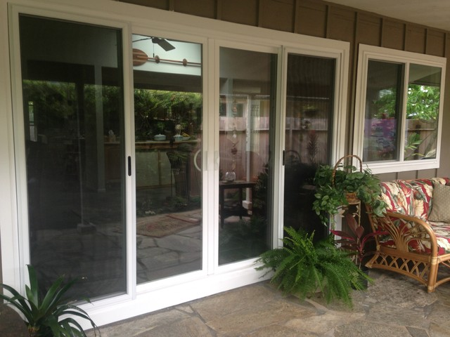 Makai Sliding Glass Doors Perfect For The Lanai Beach Style