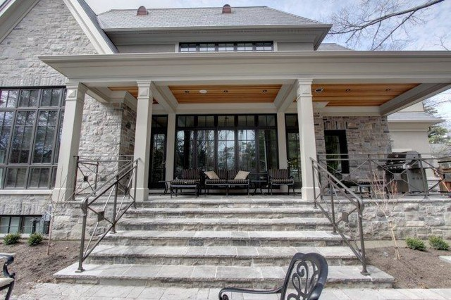 """""""Maplewood"""" traditional-porch"""