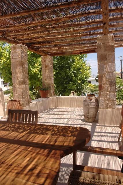 Maria Ypsilanti mediterranean-porch