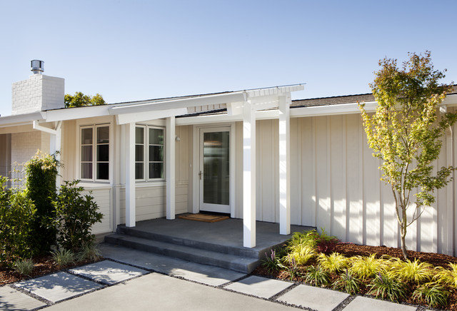 Marin Bungalow Traditional Porch San Francisco By