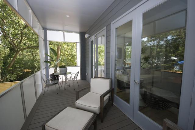 Marion condominium balcony modern porch for Balcony concept
