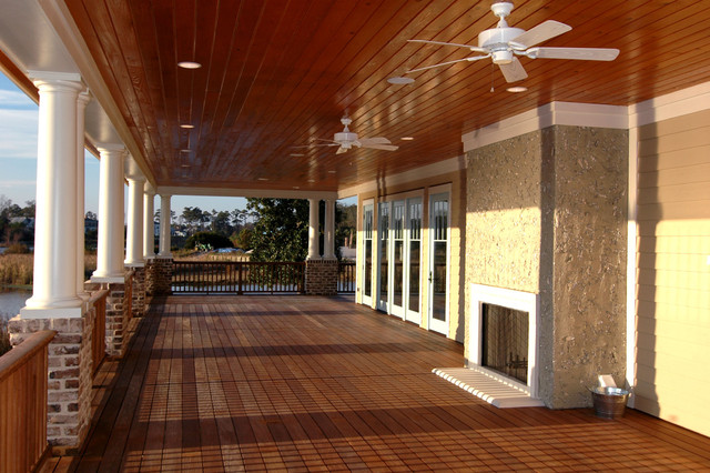 Wrap around porch contemporary porch other by for Homes with verandahs all around