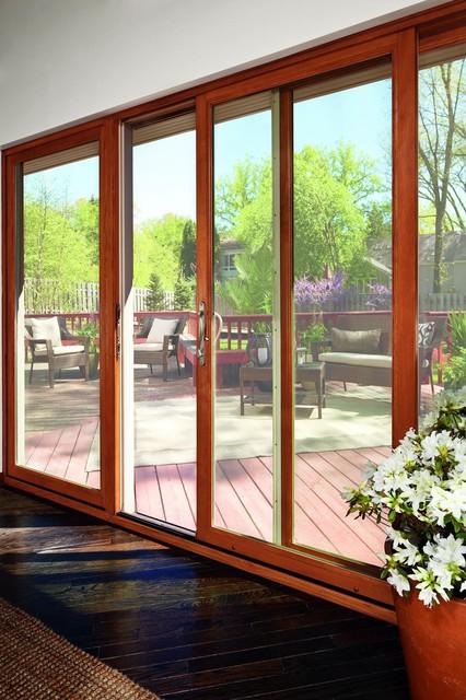 sale retailer 8143c 96744 Marvin Sliding Patio Doors - Transitional - Veranda ...