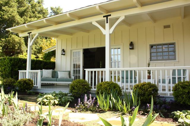 for Landscape design around farmhouse front porch