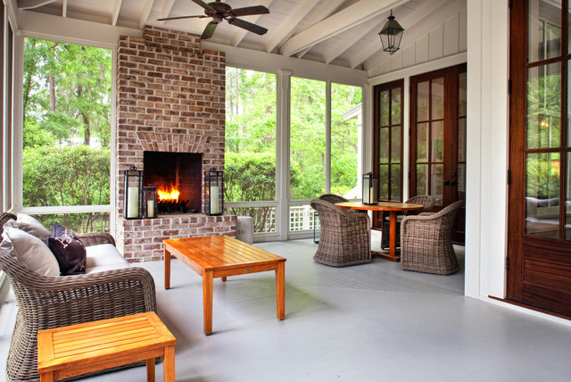 Mason Street Traditional Porch Atlanta By