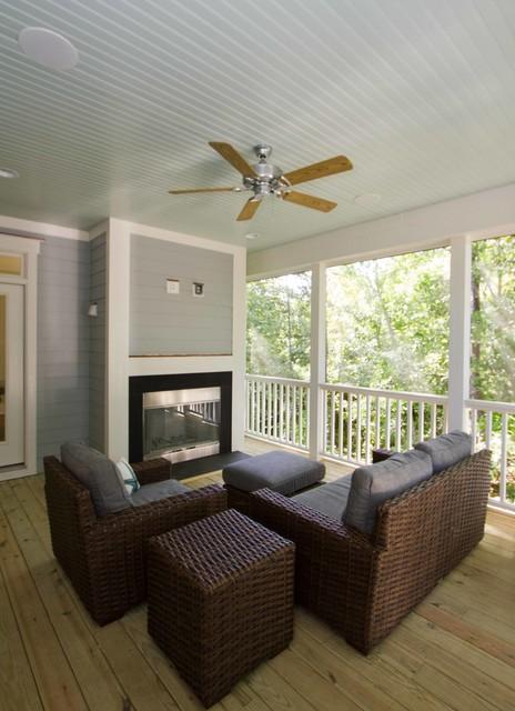 masonboro plantation custom traditional-porch