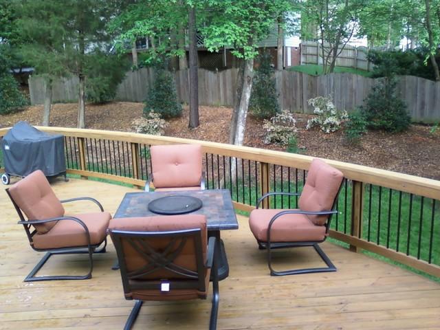 McAleer - Deck & Porch traditional-porch