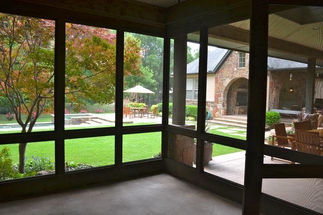 McKinney Remodel traditional-porch