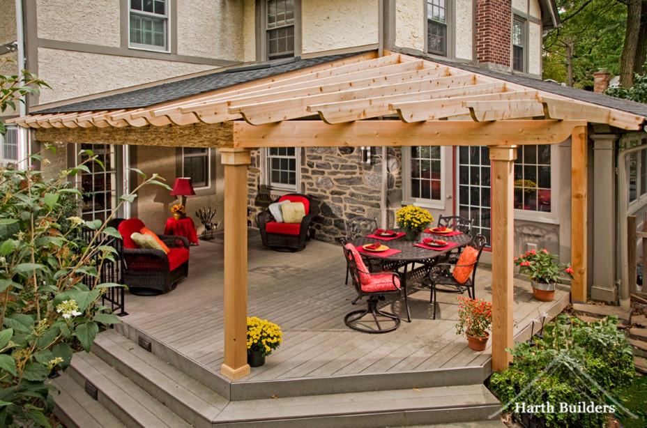 Elegant porch photo in Philadelphia
